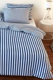 duvet cover set softjersey stripes blue infinity weiss softjersey striped duvet covers bed linen bedroom s