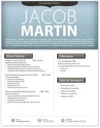 Modern Resume Template Word Modern Resume Format In Word Kleo