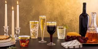 mini plastic wine glasses bulk