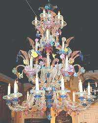 chandeliers venetian glass chandelier photo gallery of viewing photos elaborate sold on lane antique pertaining
