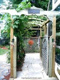 garden arbors trellises garden gate arbor arbor with garden gate ways to create vertical interest garden arbors trellises garden arbor