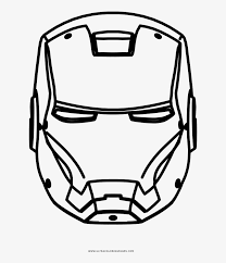 These coloring pages is really useful for early child education but you don't need become a teacher to create coloring books to print. Iron Man Coloring Page Iron Man Drawing Of Face Transparent Png 1000x1000 Free Download On Nicepng