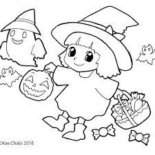 10月イラスト Chabis Coloring Calendar