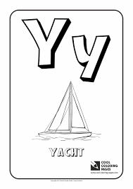 Small Picture Letter Y Coloring Alphabet Cool Coloring Pages