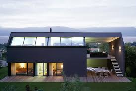 house plan contemporary house plan for sloping lot you design for modern house plans sloped lots