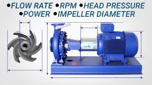 Pump Calculations Flow Rate Rpm Head Pressure Pump Power Impeller Diameter