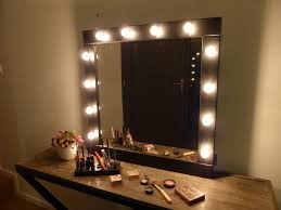 Large Vanity Mirror With Light Bulbs Doherty House