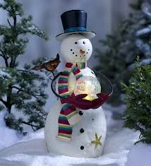 led snowman outdoor extravagant decorations the best ideas on blue led snowman outdoor