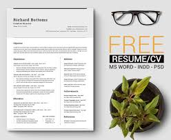 Word Template Cv 15 Free Resume Templates For Microsoft Word That Dont Look Like Word
