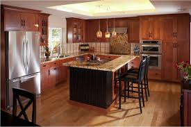 Kitchen Cherry Cabinets Modern Cherry Kitchen Cabinets Ideas