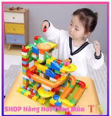 HOT 2020] Đồ Chơi Lắp Ráp, Đồ Chơi Xếp Hình Tháp Lăn Bi 165 chi tiết cực đẹp  cho bé, đồ chơi trẻ em, đồ chơi cho bé