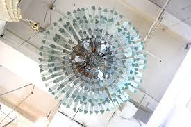 venini monumental prism chandelier