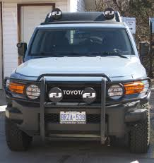 Fj Cruiser Fog Lights Oem Looking For Grille Guard Fog Lights Toyota Fj Cruiser Forum