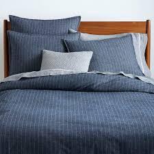 full image for plain navy double duvet cover navy stripe duvet cover queen navy duvet cover