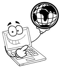 computer clipart black and white. pin computer clip art black and white on pinterest clipart