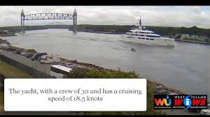 RICHEST Woman IN British Isles CRUISED Via CAPE COD CANAL IN 200M Weather Cape Cod Canal