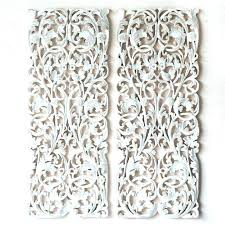epic carved wood panels best of wooden wall art decor pair panel carving sculpture decorative uk