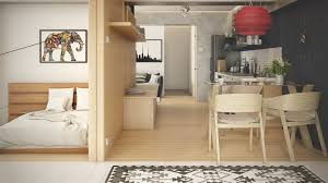 5 small studio apartments with