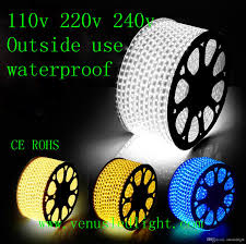 christmas rope lighting. 100m Led Strip Light 60led Flexible 110v/220v Waterproof Smd 3528 5050 Chiristmas Rope Outdoor Xmas Decorating Car Strips Dmx Christmas Lighting