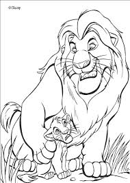 baby simba coloring pages the lion king and coloring page baby simba lion king coloring pages