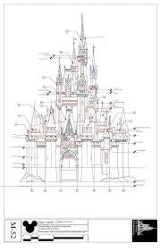 disney castle floor plan