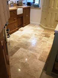 Travertine For Kitchen Floor Travertine Posts Stone Cleaning And Polishing Tips For
