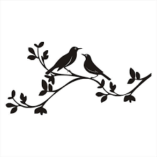 two bird silhouette. Exellent Two On Two Bird Silhouette R