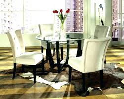 round dinner table set glass round dining table black circle furniture astonishing white modern room sets stained ideas and chairs glass round dining table