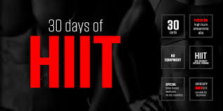 30 days of hiit is a visual no equipment fitness program designed for higher burn in a shorter period of time if you re looking for weight loss or muscle