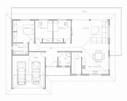 3 bedroom 2 bath house plans 1 story no garage inspirational 17 awesome single floor 3