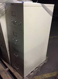 4 Drawer Letter Size File Cabinet 4 Drawer Hon Letter Size Tan Fireproof File Cabinets Used