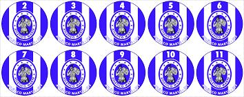 Mika - Escudinhos para Botões: EL SALVADOR
