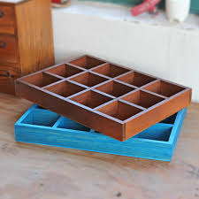Decorative Display Boxes Vintage Retro Storage Boxes Wooden Box Durable Cosmetic Box 48