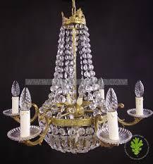 pretty vintage french sac de pearl chandelier