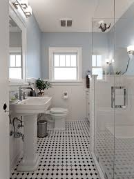 bathrooms with black and white tile. blue and white bathroom victorian with black . bathrooms tile