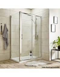 premier sliding shower door 1400mm