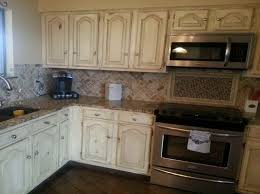 beautiful rustic white cabinets with classic distressed white intended for white distressed kitchen cabinets prepare