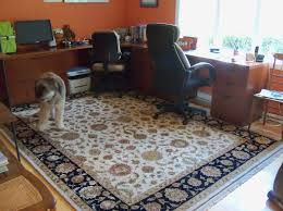 home office rug solution from brandon oriental rugs brandonrugs com for pipersville pa homeowners