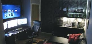 video game room furniture. Gaming Bedroom Setup Epic Video Game Room Decoration Ideas For Pertaining To . Furniture I