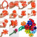 Фигуры из шаров пошаговая инструкция