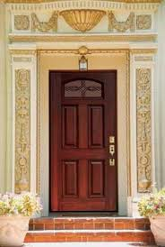 single front doorsCamber Lite Marsais Fiberglass Single Door Tall 80  Traditional