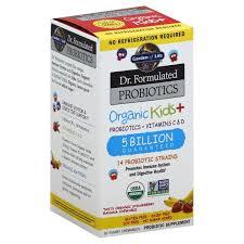 garden of life probiotics vitamins c d chewables organic kids
