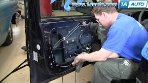 how to install repair replace power window motor chevy impala 00 1992 Gmc 1500 Front Window Wiring how to install repair replace power window motor chevy impala 00 05 1aauto com youtube 1992 GMC SLE