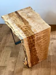 Natural edge furniture Natural Wood Sold Live Edge Wood Waterfall End Table Modern Wood Side Table Slab Furniture Natural Edge Furn Save The Planet Furniture Sold Live Edge Wood Waterfall End Table Modern Wood Side Table