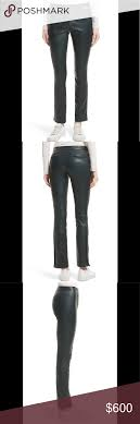 Nwt Theory Bristol Leather Pants Size Information High