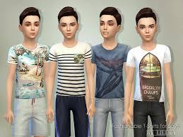 featured artist sims 4 male child sleepwear
