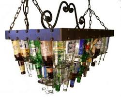 while at the same time providing stylish lighting and advertising the brews on offer sounds too good to be true not with a beer bottle chandelier