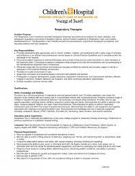 key responsibilities resume entry level respiratory therapist resumes  templates therapy samples examples sample new grad . respiratory therapist  resume ...