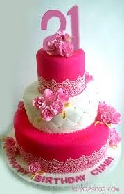 21 Birthday Cake Hot Pink Theme Sri Lanka Online Shopping Site