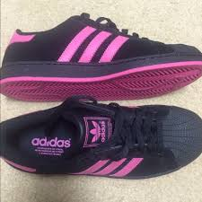 adidas shoes pink and purple. adidas shoes - black \u0026 pink shell toes and purple /